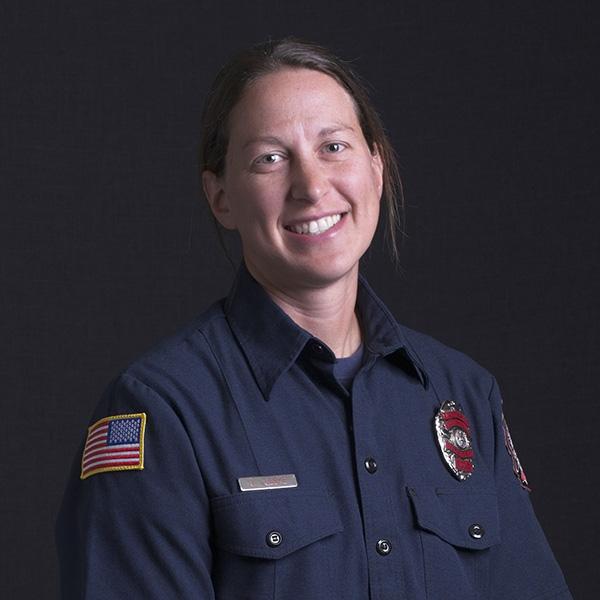 Firefighter Headshot