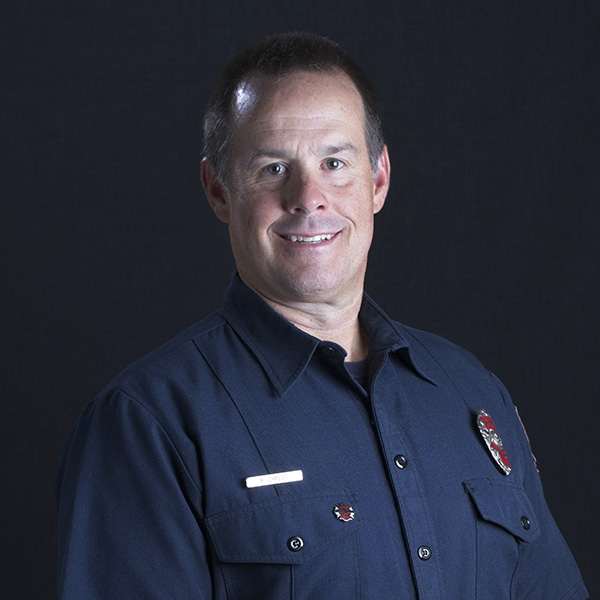volunteer firefighter headshot